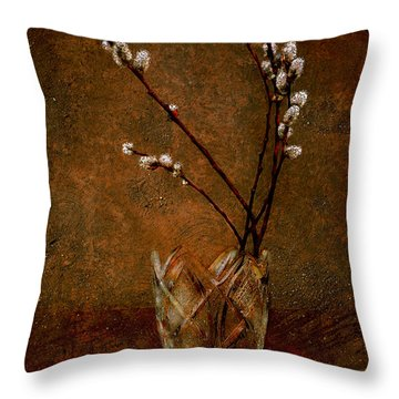 Spring Bouquet Throw Pillow by Svetlana Sewell