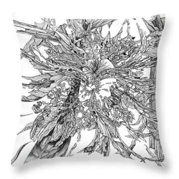 Spring Burst Throw Pillow