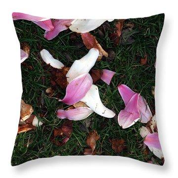 Spring Carpet Throw Pillow