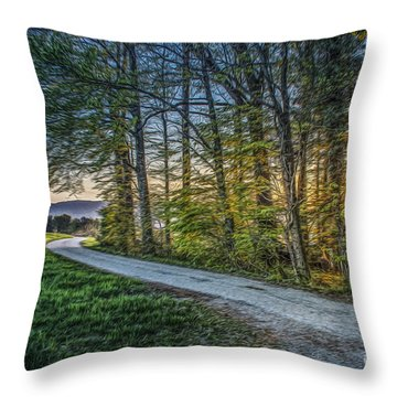 Spring Colors2 Throw Pillow