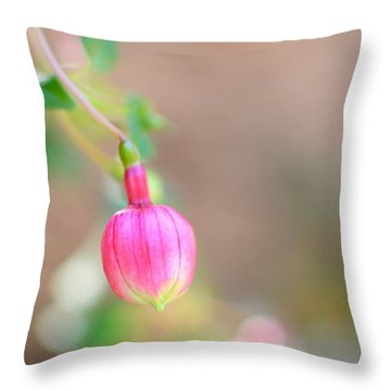Throw Pillow featuring the photograph Spring Comes To South Carolina by Corinne Rhode