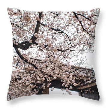 Spring Cult Throw Pillow