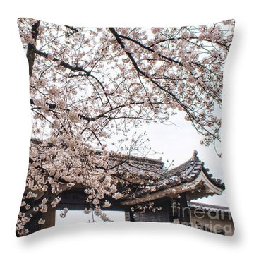 Spring Cult Throw Pillow