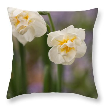 Spring Dance Throw Pillow
