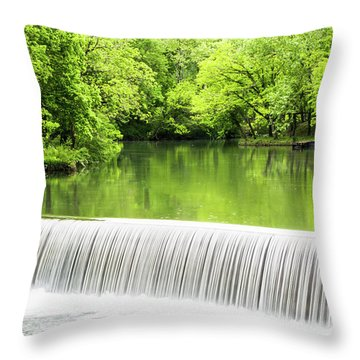 Throw Pillow featuring the photograph Spring Days In Helena by Parker Cunningham