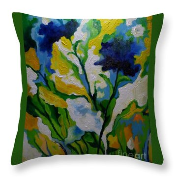 Spring Delight Throw Pillow