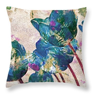 Spring Energies 10 Throw Pillow