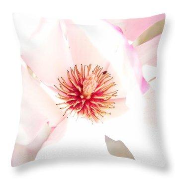 Spring Flower Blossoms Throw Pillow