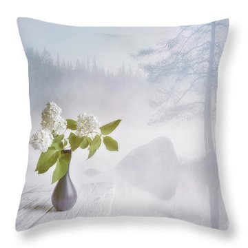 Spring Flowers 2 Throw Pillow