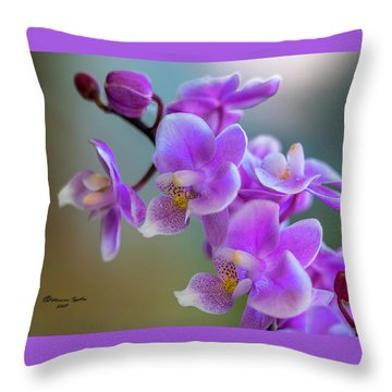 Throw Pillow featuring the photograph Spring For You by Marvin Spates