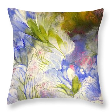 Spring Throw Pillow by Fred Wilson