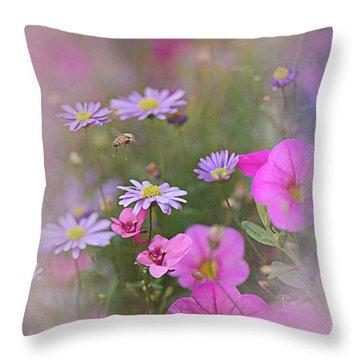 Spring Garden 2017 Throw Pillow