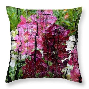 Spring Garden H131716 Throw Pillow