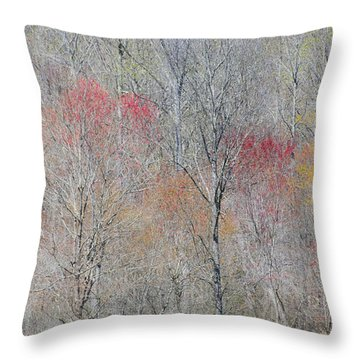 Spring Growth Throw Pillow