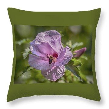 Spring Happy Dance Throw Pillow