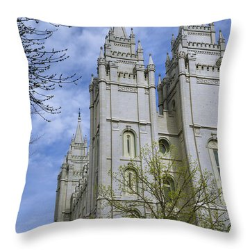 Spring Has Sprung Throw Pillow by Chad Dutson