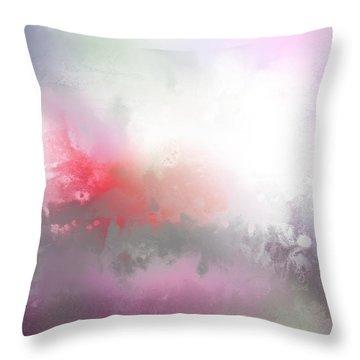 Spring II Throw Pillow