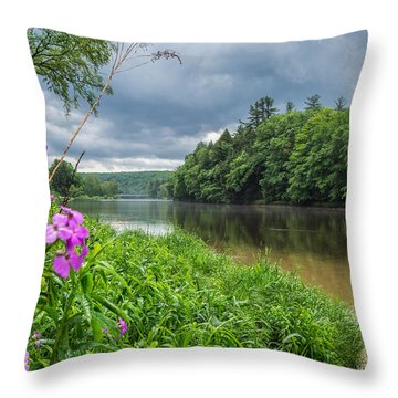 Spring In Clarington Throw Pillow