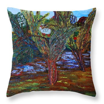 Spring In Cranbury Throw Pillow