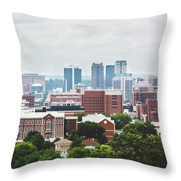 Throw Pillow featuring the photograph Spring In The Magic City - Birmingham by Shelby Young