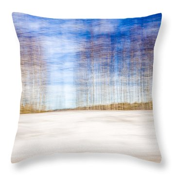 Spring In The Slumberland Forest Throw Pillow
