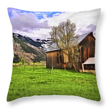 Spring Is All Ways A Good Time Of The Year Throw Pillow by James Steele