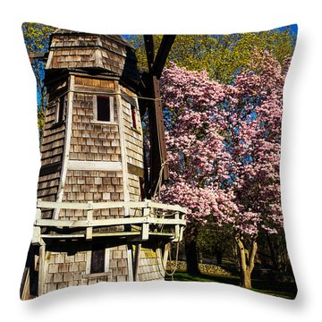 Spring Is Here Throw Pillow