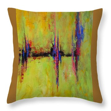 Spring Is In The Air #4 Throw Pillow by Suzzanna Frank