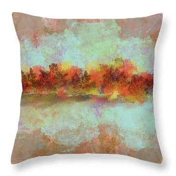 Spring Is Near Throw Pillow by Jessica Wright