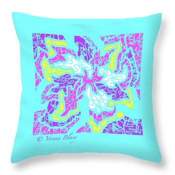 Spring Is Pastelling Throw Pillow