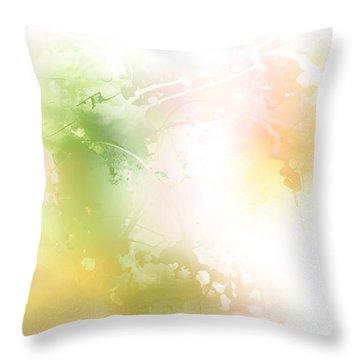 Spring Iv Throw Pillow