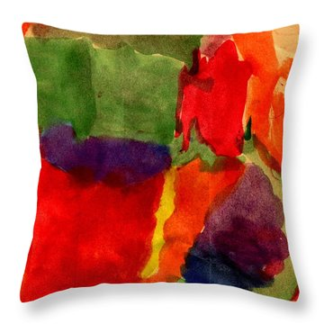 Spring Throw Pillow by Angela L Walker