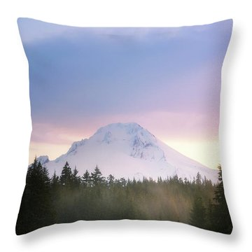 Spring Lenticular Throw Pillow