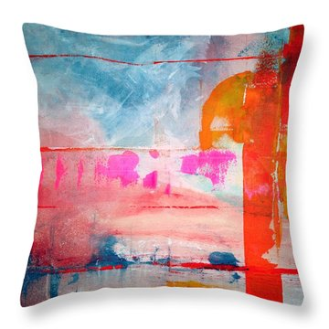 Spring Light North Wind Throw Pillow