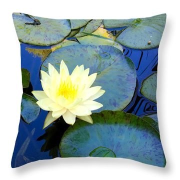 Spring Lily Throw Pillow