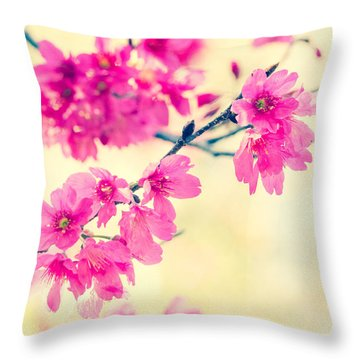 Throw Pillow featuring the photograph Spring Magic by Julie Andel