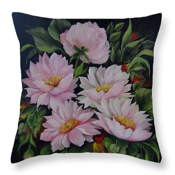 Spring Messangers Throw Pillow