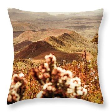 Spring Scenery Throw Pillows