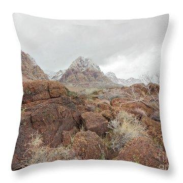 Spring Mountain Ranch Throw Pillow