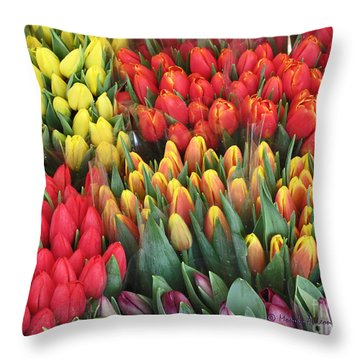 Spring On Earth Throw Pillow