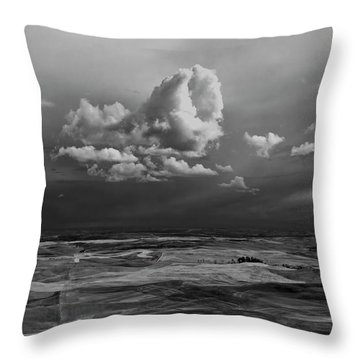 Throw Pillow featuring the photograph Spring On The Palouse by Albert Seger