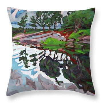 Spring Paradise Throw Pillow