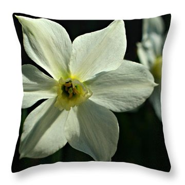 Spring Perennial Throw Pillow