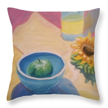 Spring Picnic  Throw Pillow