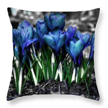 Spring Rebirth Throw Pillow