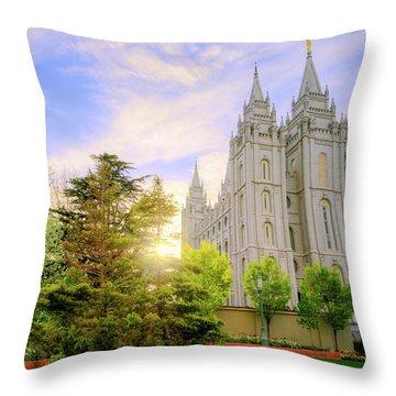 Spring Rest Throw Pillow