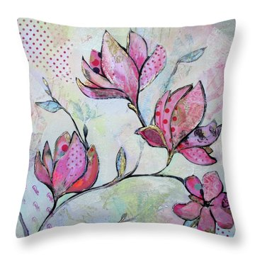 Spring Reverie I Throw Pillow