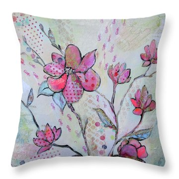 Spring Reverie IIi Throw Pillow