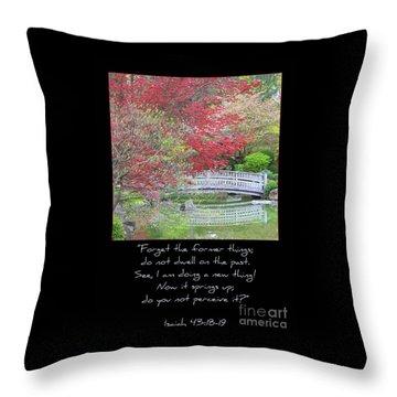 Spring Revival Throw Pillow by Carol Groenen