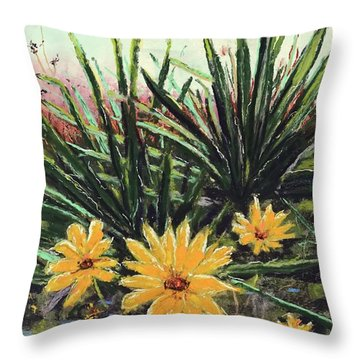 Spring Rising Throw Pillow